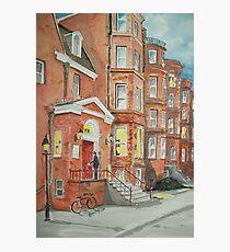 The Postman Photographic Print