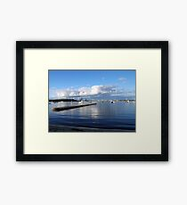 Perth thunder clouds Framed Print