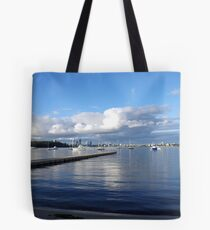 Perth thunder clouds Tote Bag