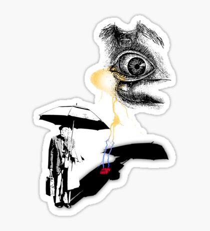 It was a dark and stormy night … Sticker