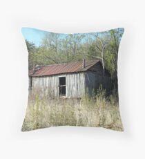 Rural decay Throw Pillow