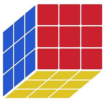 Rubik's Cube - Stencil Pocket by Undeniable