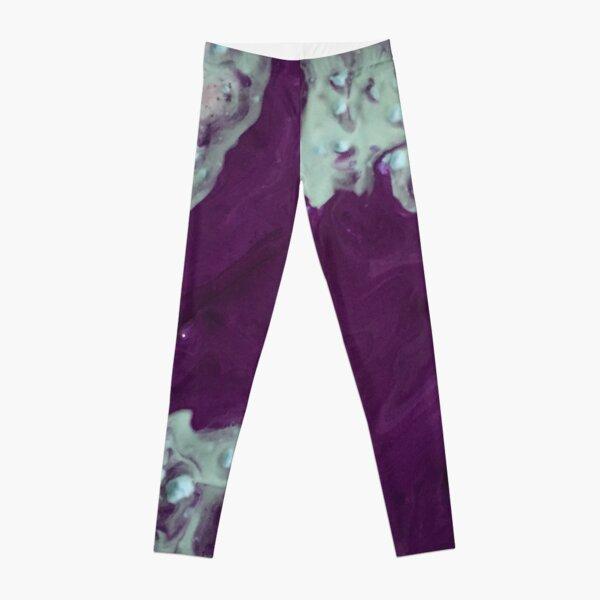 Purple River  Leggings