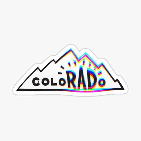 colorado sticker Sticker
