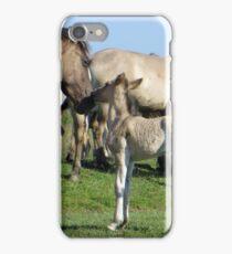 A little kiss iPhone Case/Skin