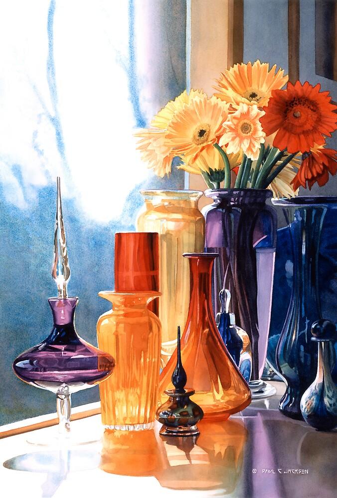 Quot Quot Jewels Of The Czar Quot Art Glass Watercolor Quot By Paul
