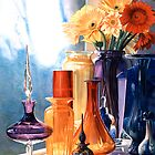 """""""Jewels of the Czar"""" Art Glass Watercolor by Paul Jackson"""