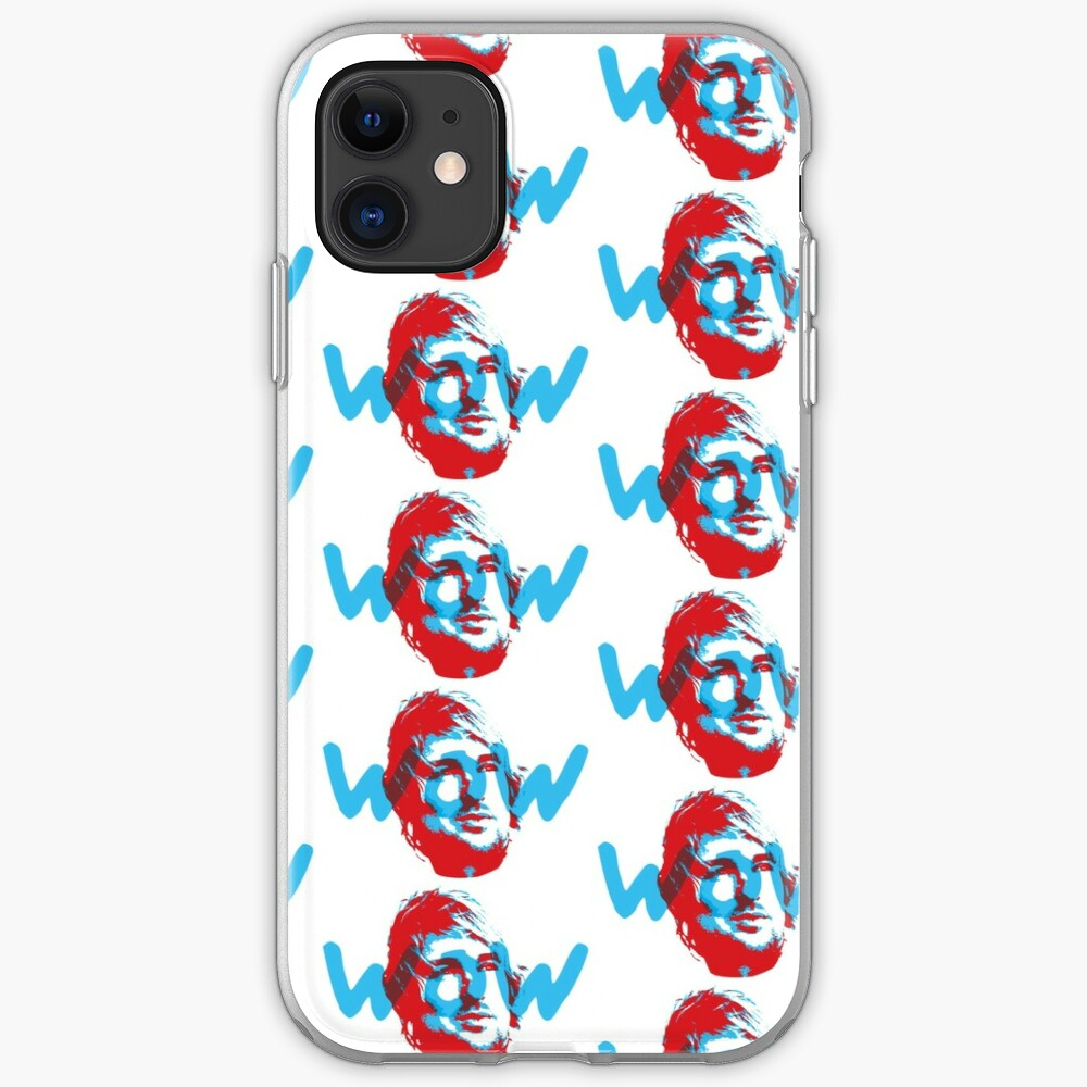 Owen Wilson Says Wow - Red iPhone Case & Cover