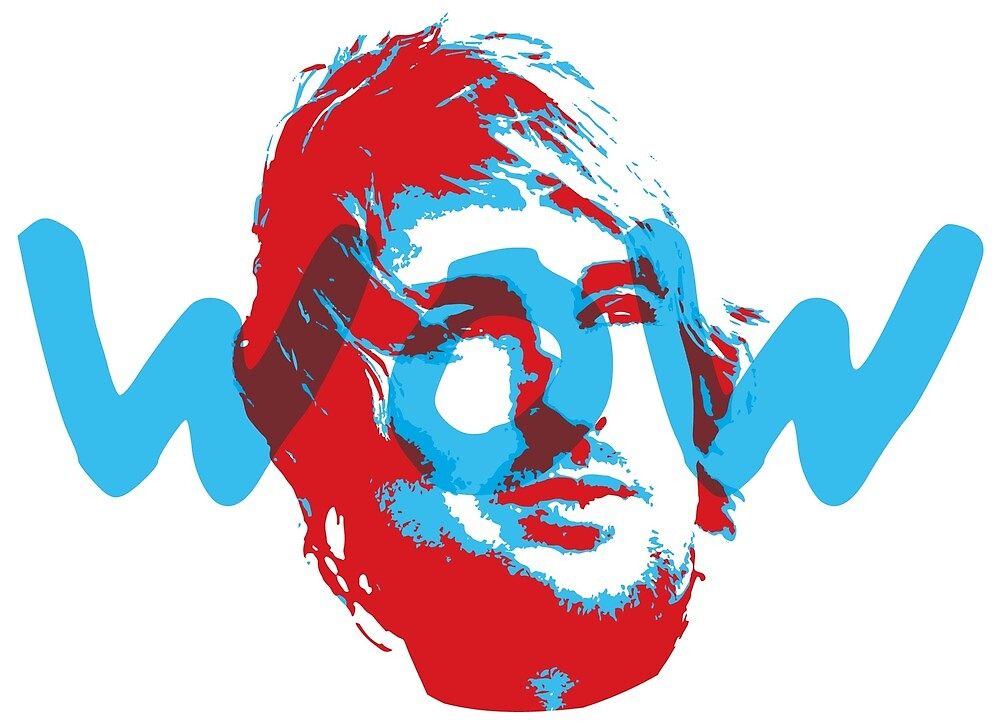 Owen Wilson Says Wow - Red by WowApparel
