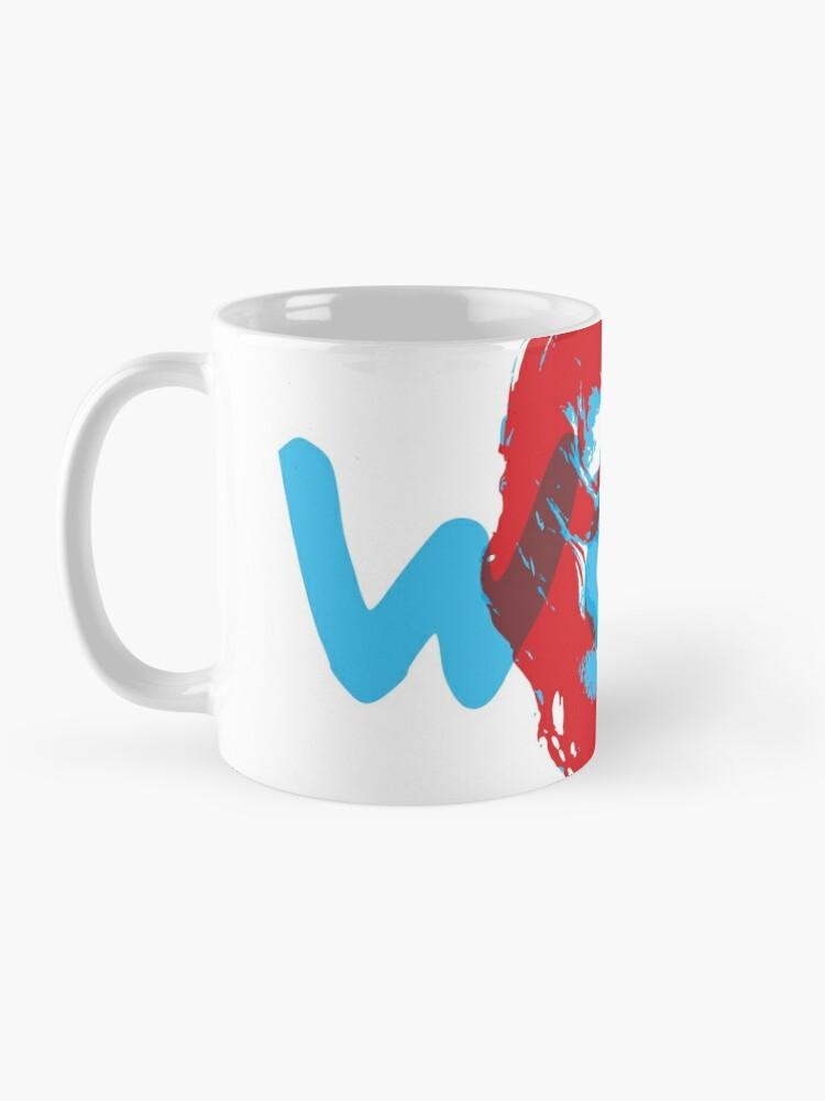 Alternate view of Owen Wilson Says Wow - Red Mug