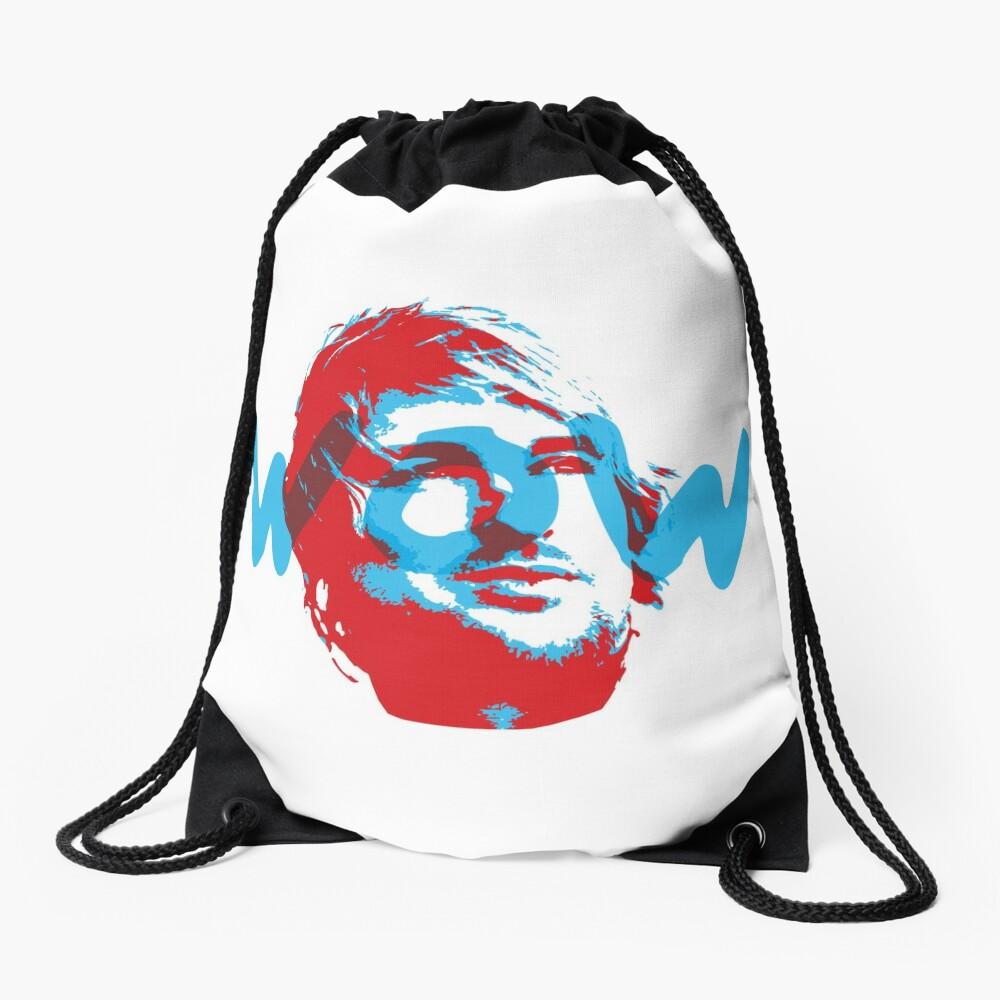 Owen Wilson Says Wow - Red Drawstring Bag