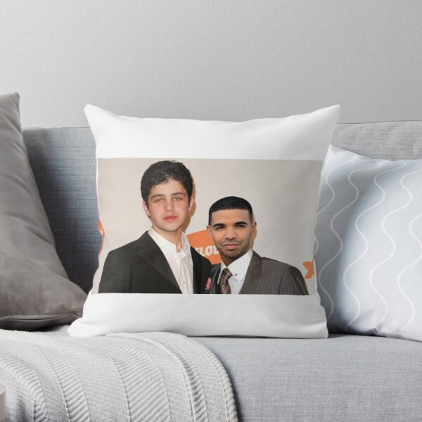 6 God and Josh Throw Pillow