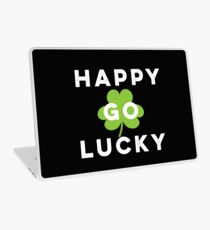 Funny Irish Happy Go Lucky St Patrick's Day Pub Crawl  Laptop Skin