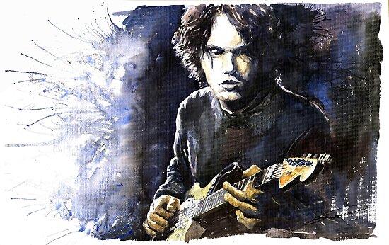 Jazz Rock John Mayer 03 by Yuriy Shevchuk