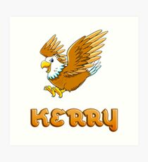 Kerry Eagle Sticker Art Print