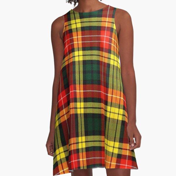 Buchanan Tartan A-Line Dress