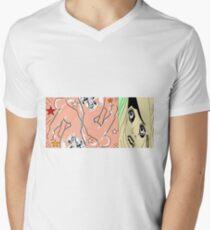hunkydory 1 Men's V-Neck T-Shirt