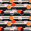 Sunray Trough The Venetian Blind - Pattern // Summer Night by Elli Maanpää