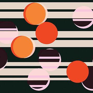 Sunray Trough The Venetian Blind - Pattern // Summer Night by ElliMaanpaa