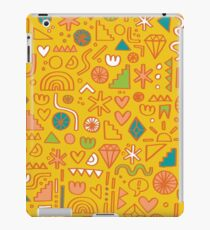 Busy Day Yellow iPad Case/Skin