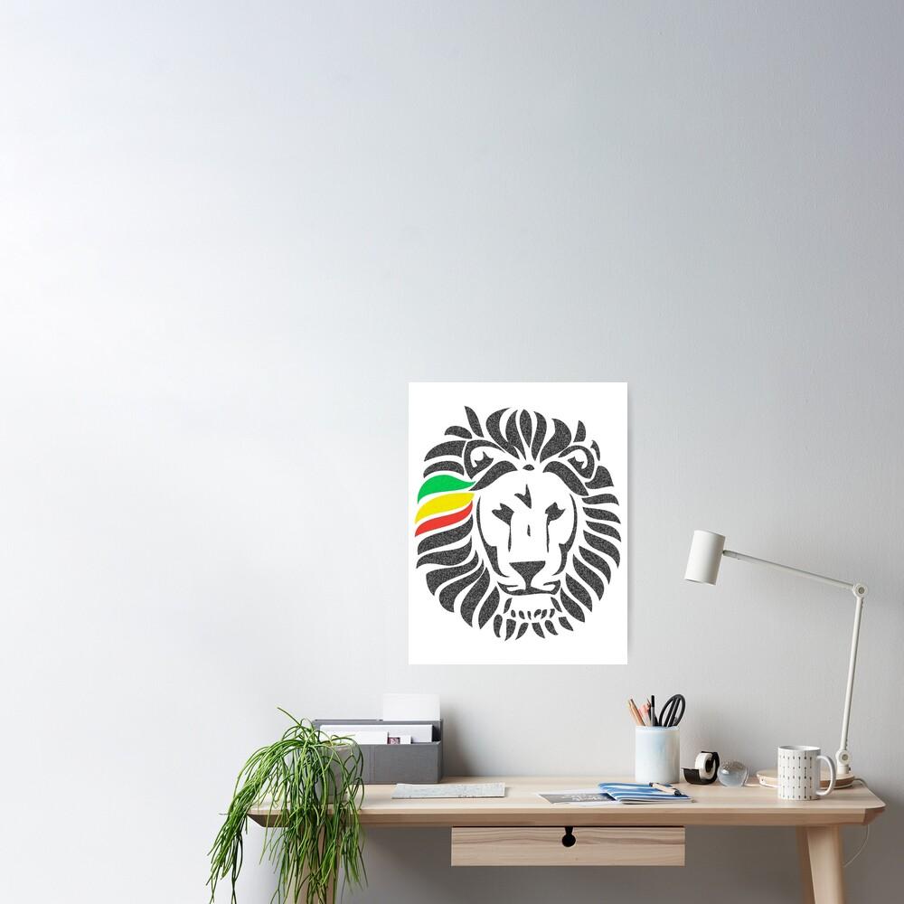 Lion Tuff  Poster