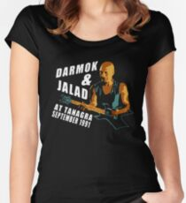 Darmok and Jalad Tamarian Tanagra Women's Fitted Scoop T-Shirt