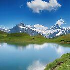 Bachalpsee Grindelwald Switzerland by Susan Dost