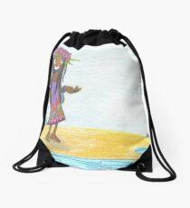 Maui Girl Drawstring Bag