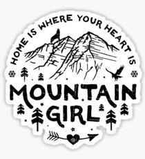 Mountain Girl  Sticker