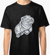 Hippopotamus- Pointillism Classic T-Shirt