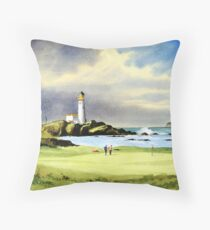 Turnberry Golf Course Scotland Throw Pillow
