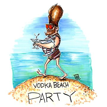 Vodka Beach Party by obillwon