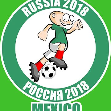 Mexico in the Soccer World Cup Russia 2018 by MegaSitioDesign