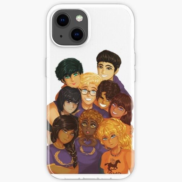 The Heroes Of Olympus iPhone Soft Case