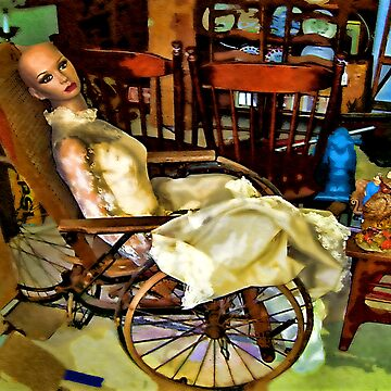 Beauty In A Wheelchair by dooley