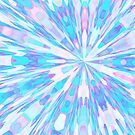 Pastel Starburst Mandala by Kelly Dietrich