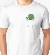 PepeHands Pocket Unisex T-Shirt