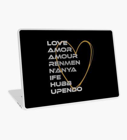 LOVE in Every Language Laptop Skin