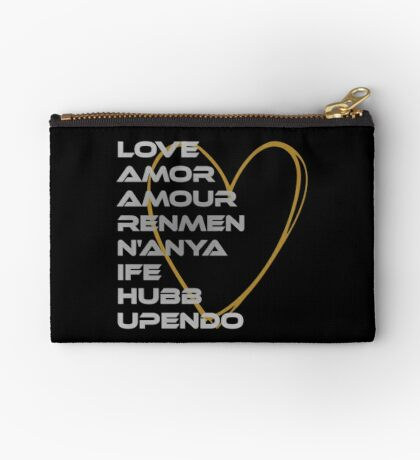 LOVE in Every Language Studio Pouch