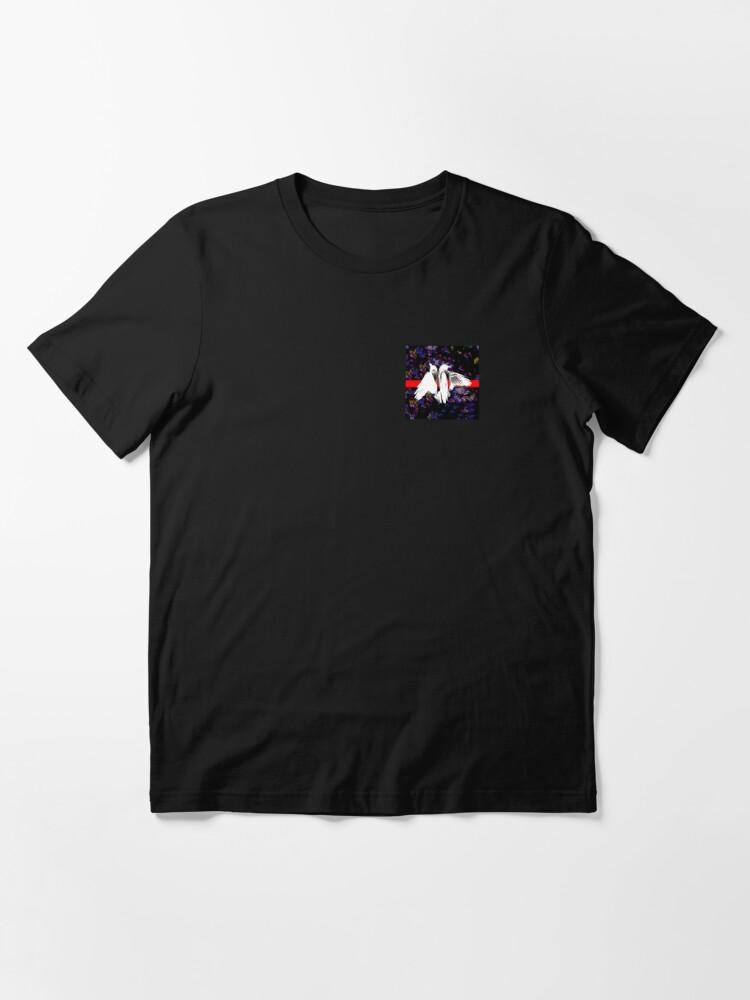 Alternate view of DEAD BIRD FLOWER PATTERN Essential T-Shirt
