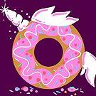 Magical Doughnut Unicorn - Dougnycorn - Donut Unicorn by Richard Eijkenbroek