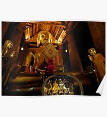 Dressing Buddha Poster