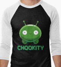 Mooncake - Chookity Men's Baseball ¾ T-Shirt