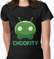 Mooncake - Chookity Women's Fitted T-Shirt