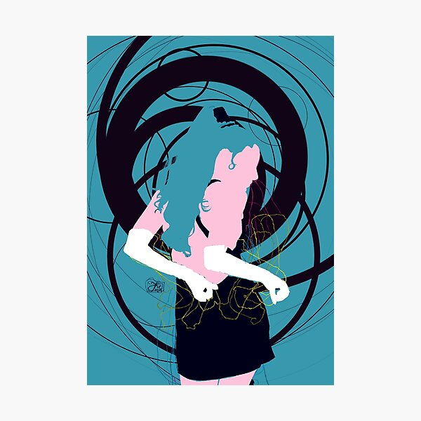 dancing girl Photographic Print