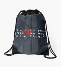 Cap & Bucky  Drawstring Bag