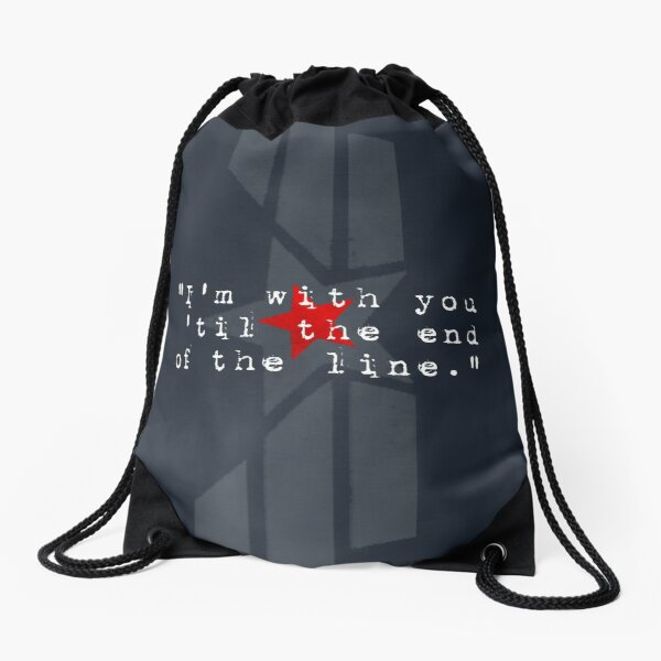 Cap & Bucky  Drawstring Bag