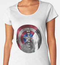 with you 'til the end of the line Women's Premium T-Shirt
