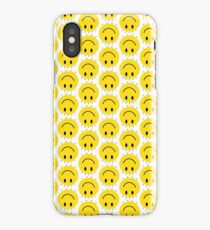 Paramore Fake Happy Smiley Face iPhone Case