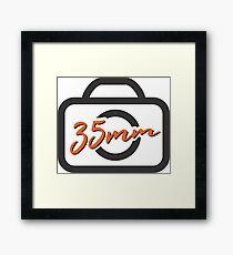 35mm Framed Print